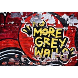 FOTOTAPET NO MORE GREY WALLS  126