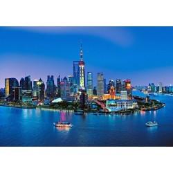 FOTOTAPET SHANGHAI SKYLINE  135