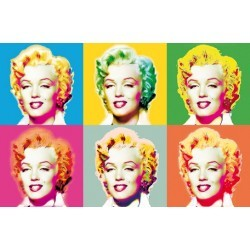 POSTER VISIONS OF MARILYN  682
